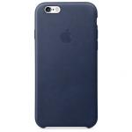 iPhone 6,6S Leather Case - Midnight Blue , เคสหนัง iPhone 6,6s - สีมิดไนท์บลู