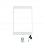 Touch Screen Panel iPad Mini 3 Generation (White) + IC Chip And Home button , Touch ID Button ชุดทัชสกรีน iPad mini 3 พร้อมชุดปุ่ม โฮม,ทัชไอดี และ IC Chip