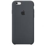 iPhone 6,6S Silicone Case - Black , เคสซิลิโคน iPhone 6,6s - สีดำ