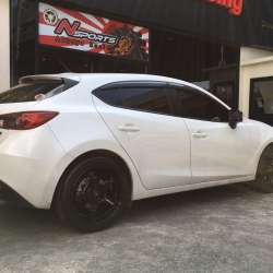 "Mazda3 + Wedssports RN-05M 18"""