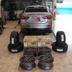 Mazda 2 + 57Xtream 17x7+42 4-100
