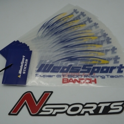 สติกเกอร์ WEDSSPORTS ของแท้จากญี่ปุ่น