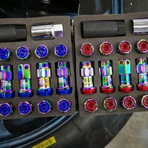 รีวิวน็อต Kyo-Ei Racing Composite R40 iCONIX (Resin Cap) Color Variation น็อตล้อจากญี่ปุ่นของแท้