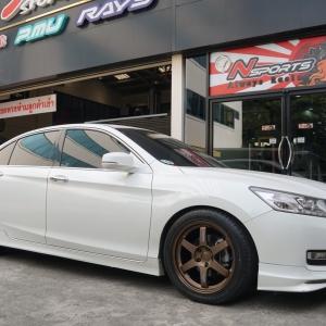 Honda Accord + Rays TE37 18x8.5+40 5-114.3