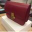 กระเป๋าหนัว Celine box (Cherry Red 24) หนังเงา thumbnail 5