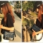 กระเป๋าหนังแกะ gabrielle bag size 28 (Navy) thumbnail 4