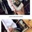 กระเป๋าหนังพรีเมี่ยม PU ทรง boyy bags (เมทาลิคแชมเปญ) thumbnail 10