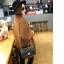 กระเป๋าหนังวัว รุ่น ชาแนลคลาสสิก 10.5 นิ้ว Black (โซ่ทองร้อยหนัง) thumbnail 5