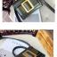 กระเป๋าหนังพรีเมี่ยม PU ทรง boyy bags (Brown) thumbnail 10