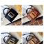 กระเป๋าหนังพรีเมี่ยม PU ทรง boyy bags (เมทาลิคแชมเปญ) thumbnail 3