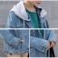 เสื้อยีนส์ มี ฮู้ด H001 thumbnail 12