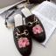 รองเท้า หนัง แท้ Gucci style 002 black size38 thumbnail 1