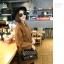 กระเป๋าหนังวัว รุ่น ชาแนลคลาสสิก 10.5 นิ้ว Black (โซ่ทองร้อยหนัง) thumbnail 2