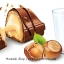 พร้อมส่ง [สินค้านำเข้าจากฝรั่งเศส] ** Kinder Bueno mini คินเดอร์ บูเอโน มินิ เวเฟอร์เคลือบช็อกโกแลตนมสอดไส้ครีมและเฮเซลนัทบด บรรจุ 108 กรัม (ประมาณ 20 ชิ้น) thumbnail 2