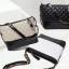 กระเป๋าหนังแกะ gabrielle bag size 28 (สีเบจ) thumbnail 4