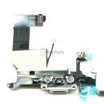821-1417-08 iPhone 5 Dock Connector and Headphone Jack White