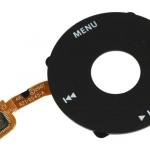 631-0457-B click wheel ipod classic black