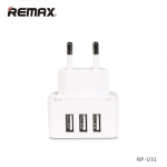 3USB Moon Power Adapter REMAX