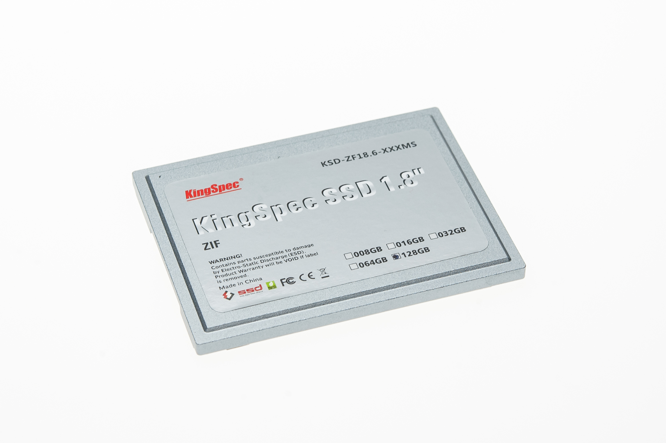 SSD KINGSPEC 128GB ZIF PATA