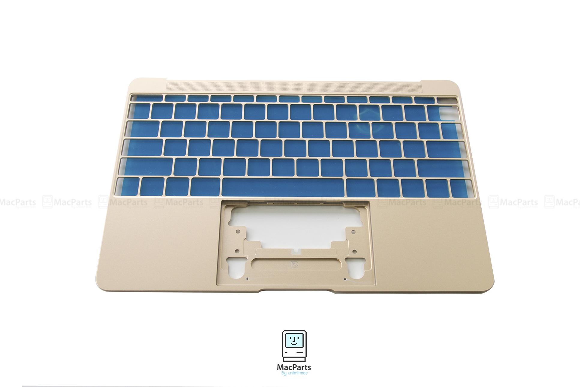 """Topcase MacBook 12"""" A1534 2015 , 2016 (Gold)"""