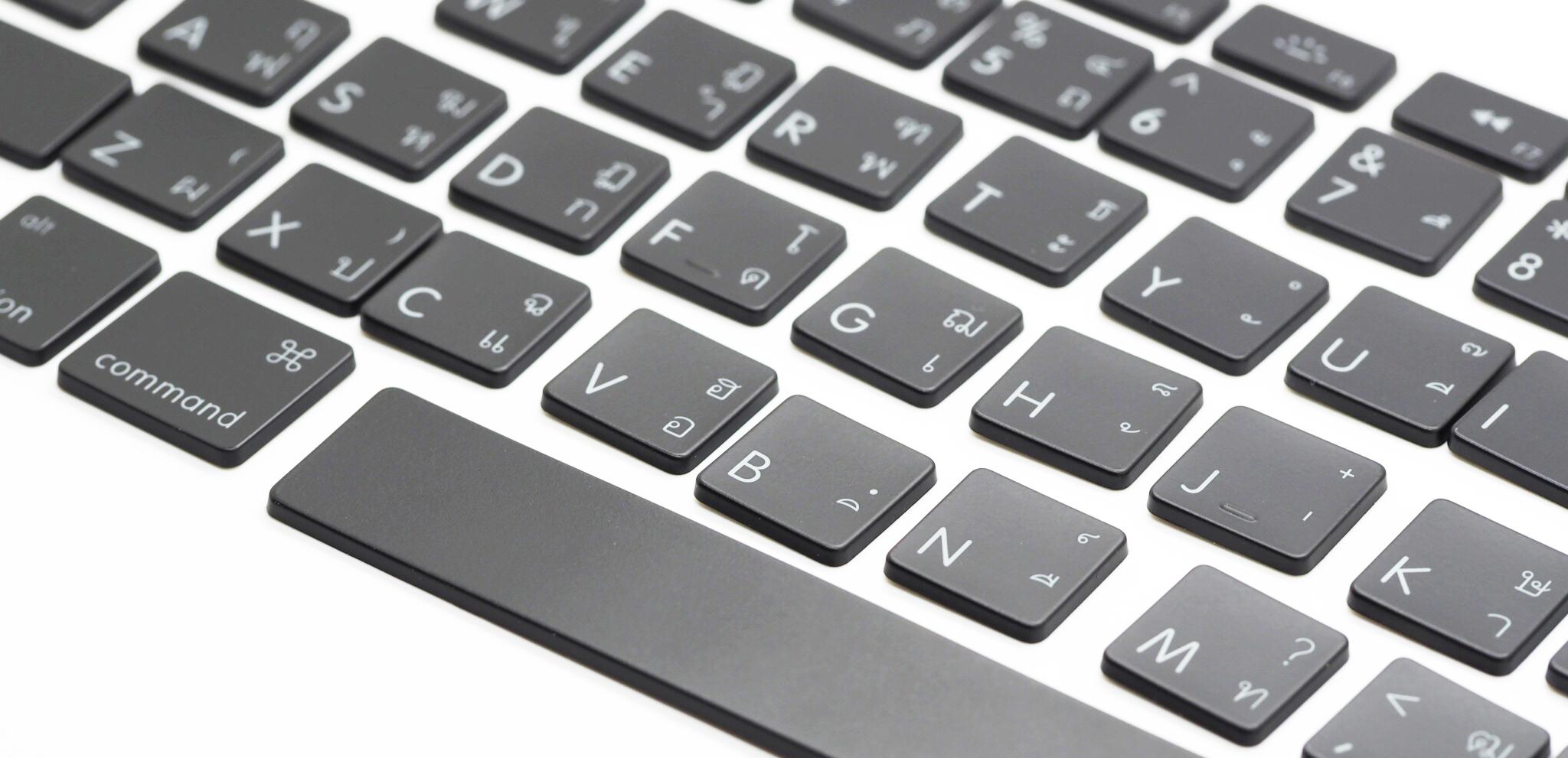 ปุ่มภาษาไทย KeyCap Set (Thai/Eng) Version D