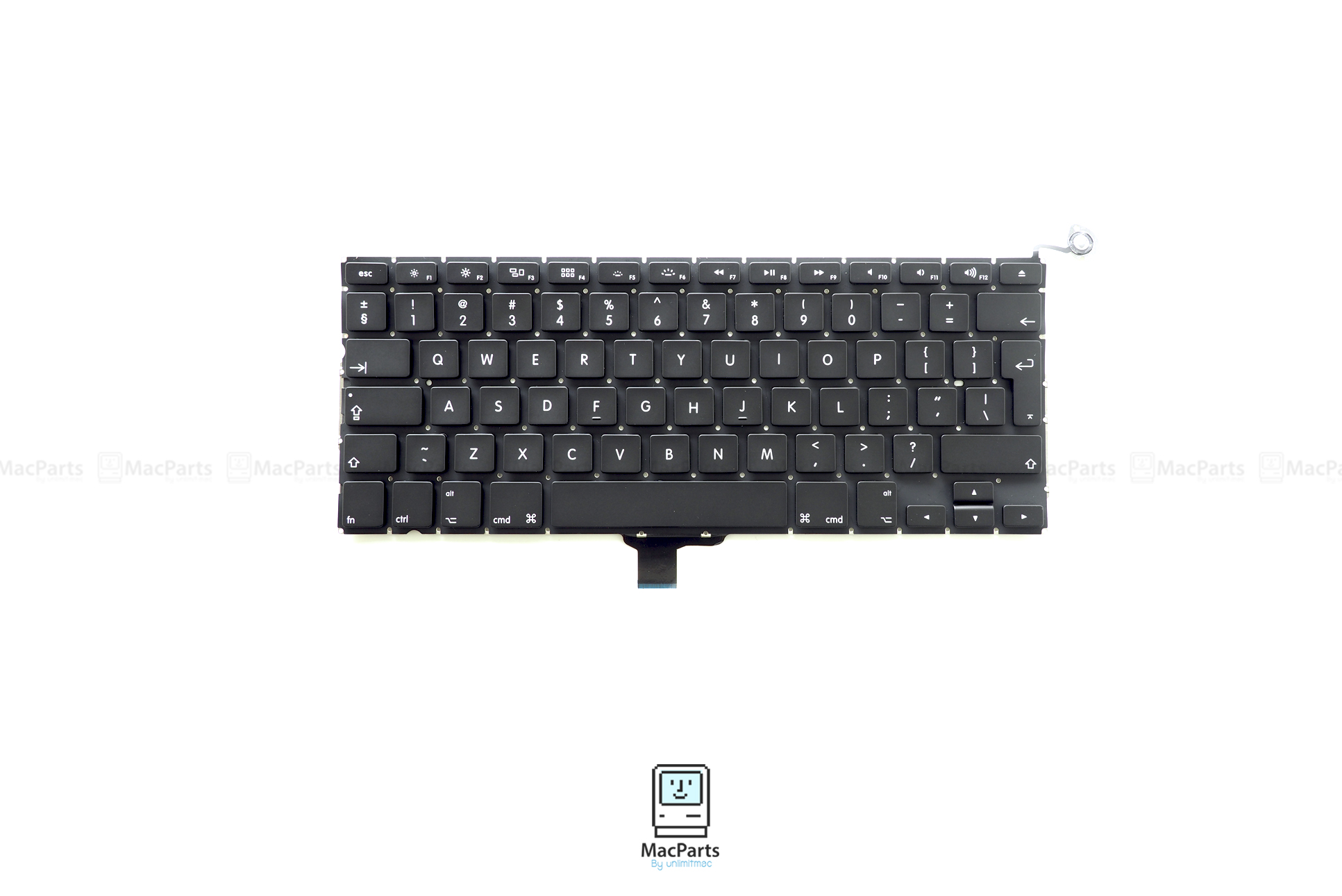 "UK Keyboard MacBook Pro 13"" SD/FW 2009 , Mid 2010 , Early 2011 , Late 2012 (A1278)"