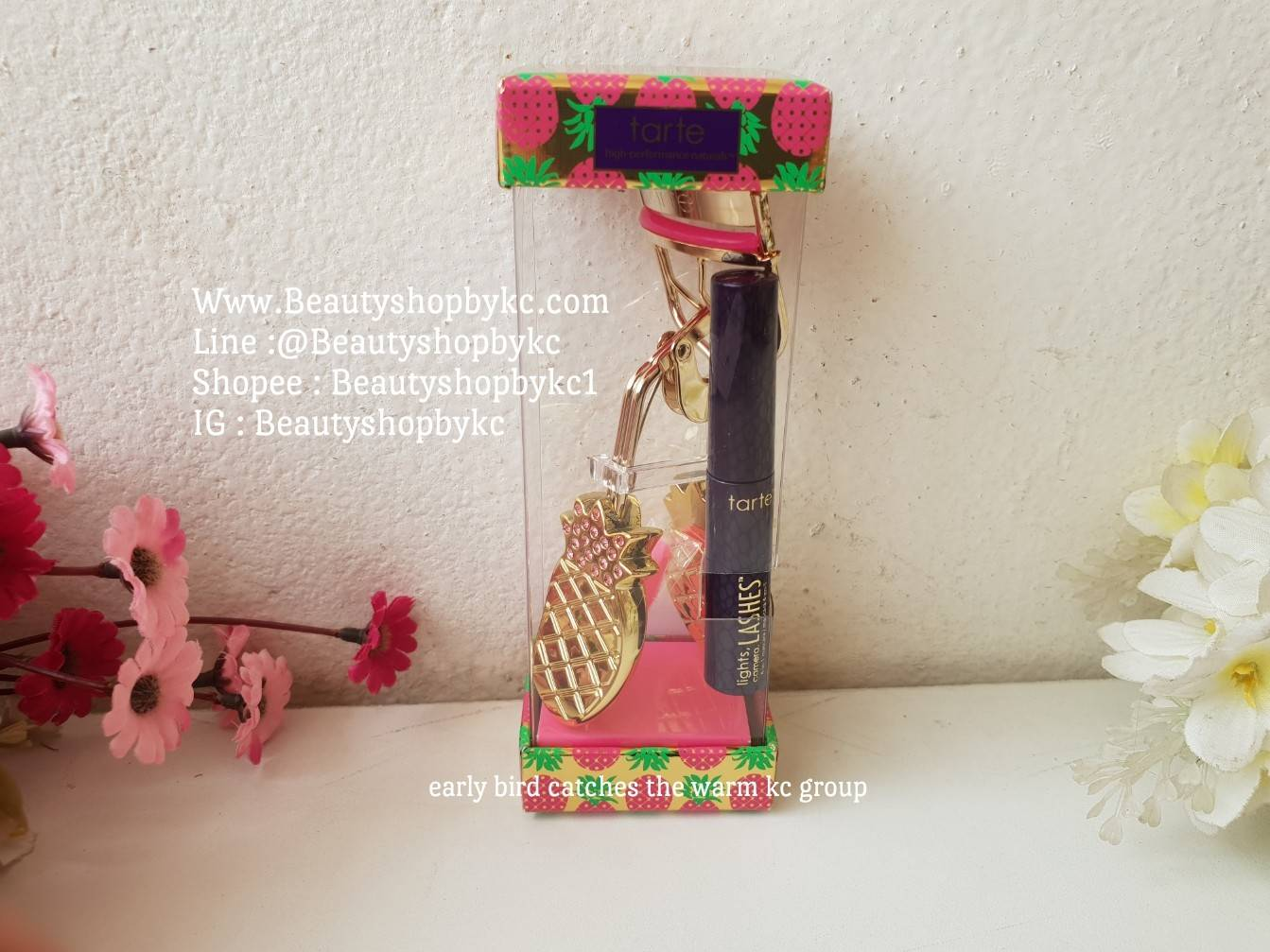 a484278d1aa TARTE Lashy & Flashy Lash Curler (Limited Edition) : Inspired by ...