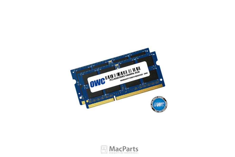 Ram DDR3 SO-DIMM 16GB (8GBx2) BUS 1066 8500 OWC