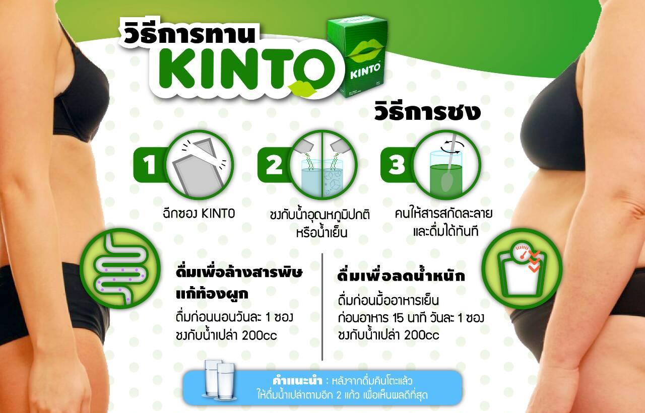Kinto (คินโตะ) อาหารเสริมดีท๊อกซ์ 2